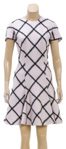 Dior short dress Pink/Black on Tradesy