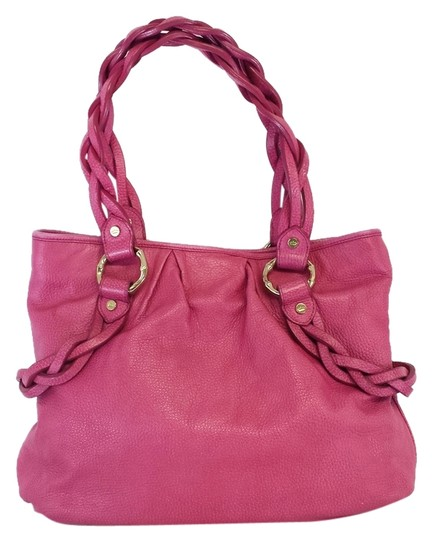 Preload https://item5.tradesy.com/images/elaine-turner-pink-leather-tote-10304119-0-1.jpg?width=440&height=440