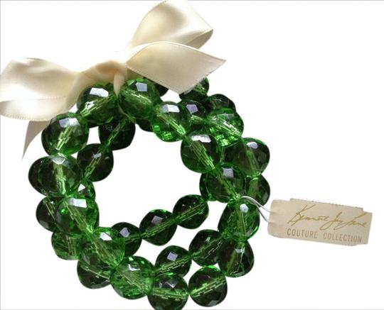 Kenneth Jay Lane Couture Collection Glass Bracelet