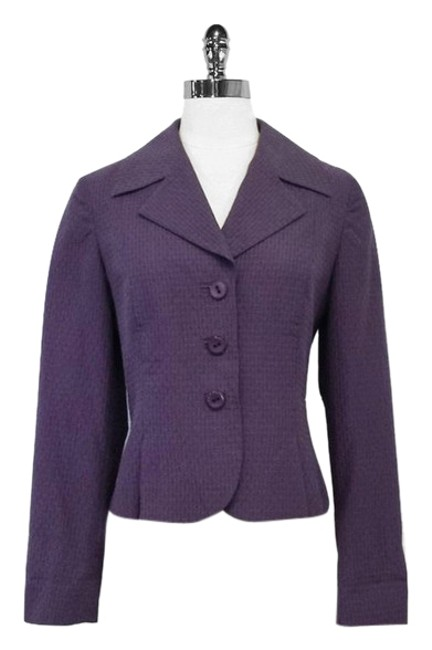 Preload https://img-static.tradesy.com/item/10304353/max-mara-purple-textured-collar-size-8-m-0-1-650-650.jpg