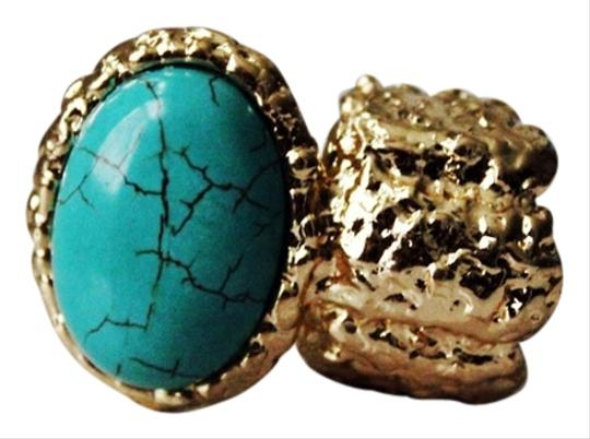Preload https://item3.tradesy.com/images/turquoise-gold-plated-stone-stretchable-knuckle-ring-1030467-0-0.jpg?width=440&height=440