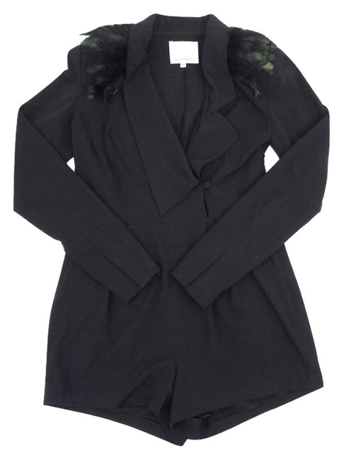Madison Marcus Black Long Sleeve Dress