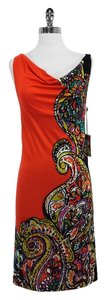 Yoana Baraschi short dress Paisley Silk Sleeveless on Tradesy