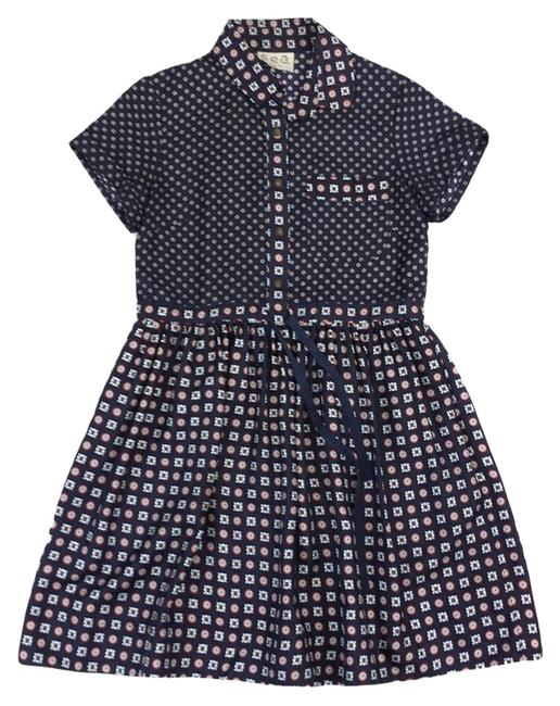 Preload https://item3.tradesy.com/images/sea-navy-and-floral-sleeve-mini-short-casual-dress-size-0-xs-10304902-0-1.jpg?width=400&height=650