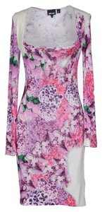 Just Cavalli Flower Pink Dress