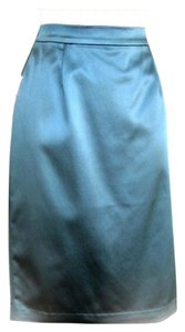 St. John Pencil Teal Skirt teal, juniper
