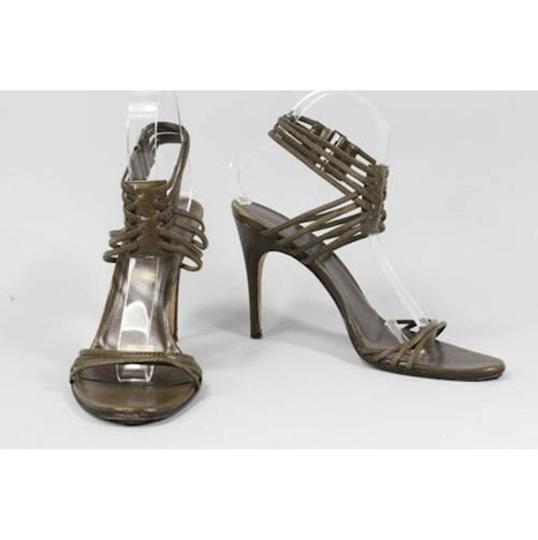Gucci Olive/Taupe Sandals