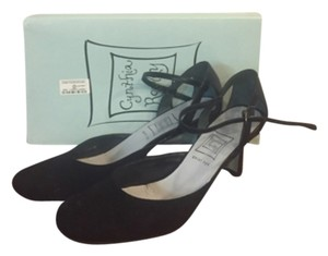 Cynthia Rowley Suede Mary Janes black Formal