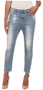 Diesel Relaxed Fit Jeans-Light Wash
