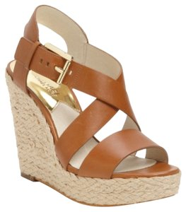 Michael Kors Brown/camel Wedges
