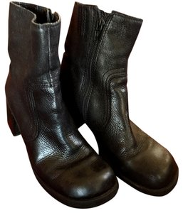 Leather Sale black Boots