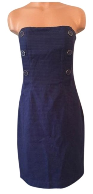 Preload https://img-static.tradesy.com/item/10307035/lilly-pulitzer-navy-nautical-button-strapless-dress-with-pockets-mid-length-cocktail-dress-size-12-l-0-5-650-650.jpg
