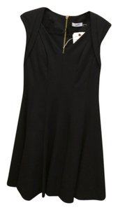 Calvin Klein Zipper Vneck Dress