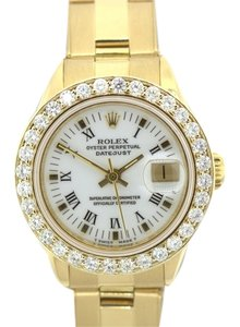 Rolex LADIES ROLEX DATEJUST 18K DIAMOND WATCH