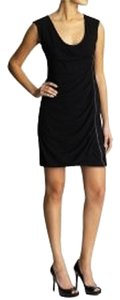 Juicy Couture short dress Black Cotton Exposed Zipper on Tradesy