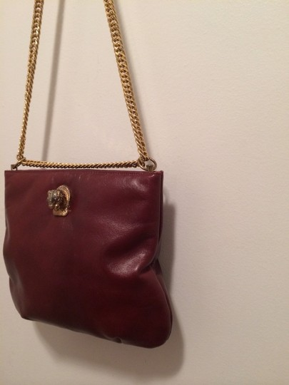 Ruth Saltz Tote in Red Maroon