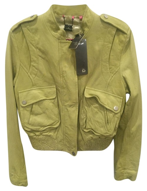 Preload https://item4.tradesy.com/images/doma-soft-pea-green-3539-leather-jacket-size-4-s-10311133-0-1.jpg?width=400&height=650