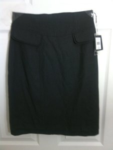 Nanette Lepore Pencil Grauy Skirt pewter