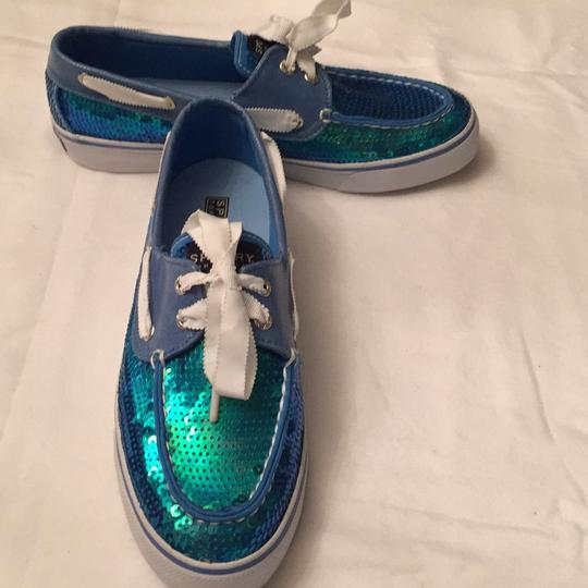 Sperry Blue Boots