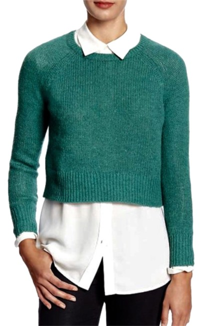 Preload https://item4.tradesy.com/images/banana-republic-cosmic-teal-sweaterpullover-size-12-l-10311388-0-1.jpg?width=400&height=650
