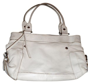Fossil Vintage Handbag Tote in white/cream