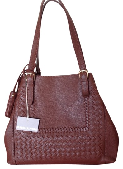 Preload https://img-static.tradesy.com/item/10312090/isabella-fiore-reno-brandy-leather-shoulder-bag-0-1-540-540.jpg