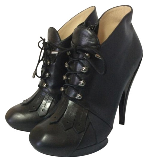 Preload https://item1.tradesy.com/images/nicholas-kirkwood-black-leather-kiltie-lace-up-bootsbooties-size-us-85-regular-m-b-10312435-0-3.jpg?width=440&height=440