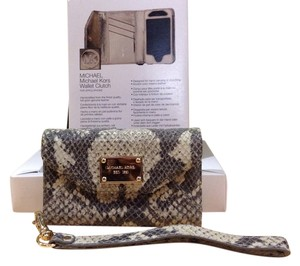 Michael Kors iPhone Python Wallet Clutch