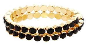 Cära Couture Jewelry Double Row Expandable Bracelet
