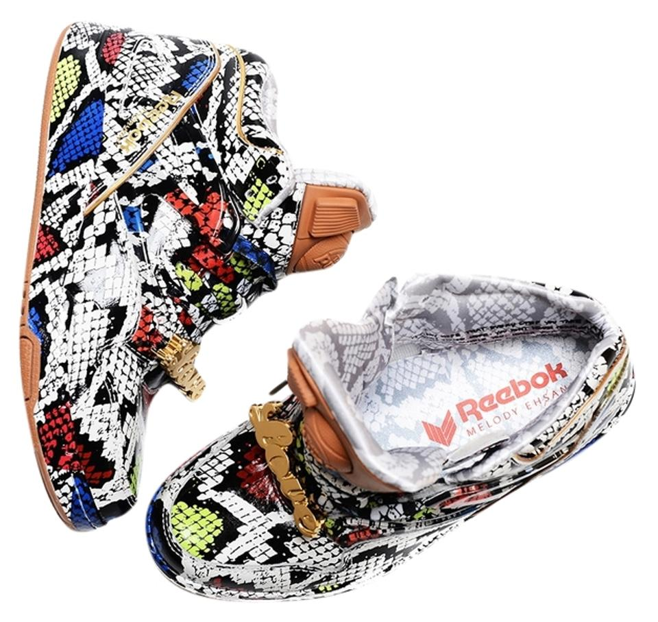 bcaff41de219ee Melody Ehsani x Reebok Sneakers Pump Classics multi colored Athletic Image  0 ...