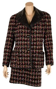 Chanel Chanel Vintage Multi-Color Wool Skirt Suit, Size 38 (60683)