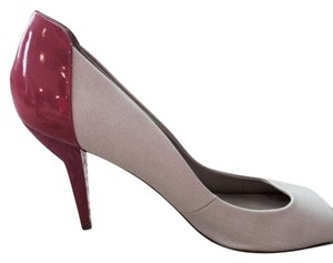 Nine West Heels Comfortable Pink and Nude Pumps