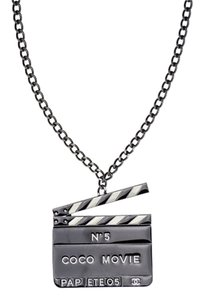 Chanel Chanel No.5 Movie Pendant Necklace