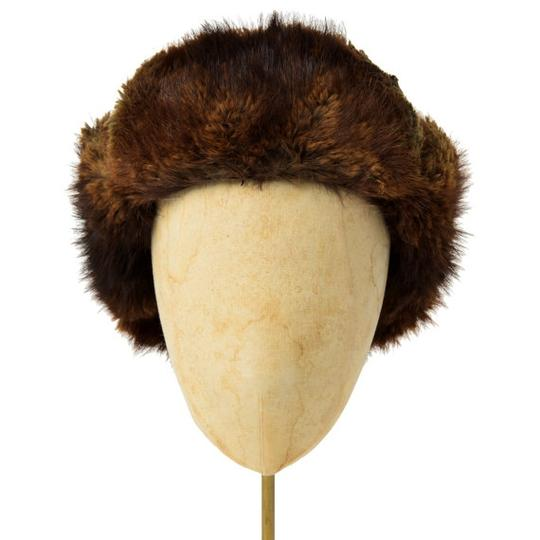 Finnish Beaver Fur Trapper Hat Authentic Beaver Fur Trapper Hat from Finland