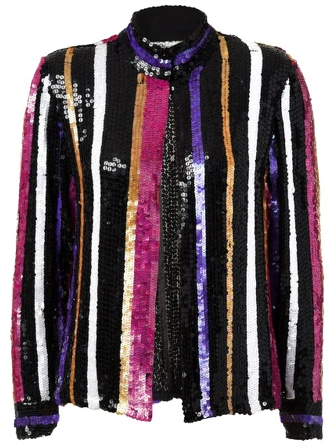 Preload https://item4.tradesy.com/images/black-pink-white-gold-and-purple-vintage-sequins-cocktail-sm-night-out-top-size-6-s-10315093-0-1.jpg?width=400&height=650