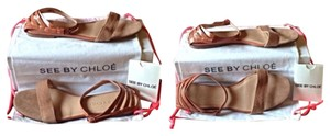See by Chloé Tan, Light Rose Sandals