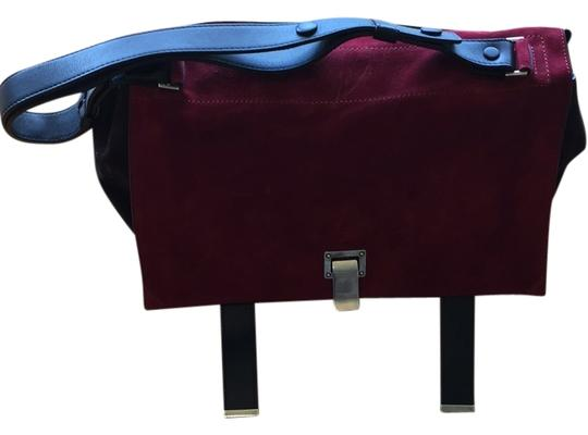 Preload https://img-static.tradesy.com/item/10315378/proenza-schouler-brown-and-maroon-with-black-suede-satchel-0-1-540-540.jpg