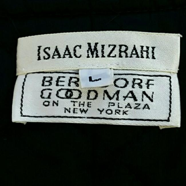 Isaac Mizrahi Metallic Comfortable Quilted Pea Coat
