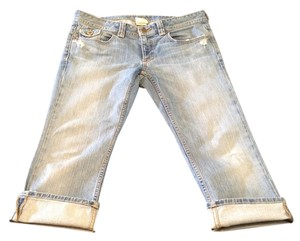 Banana Republic Capri/Cropped Denim-Distressed