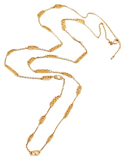 Preload https://item5.tradesy.com/images/gold-long-necklace-10316779-0-1.jpg?width=440&height=440
