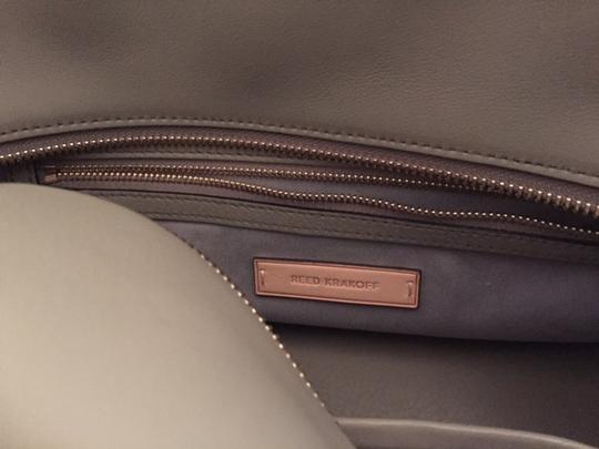 Reed Krakoff Rare Leather Vintage Satchel in Gray