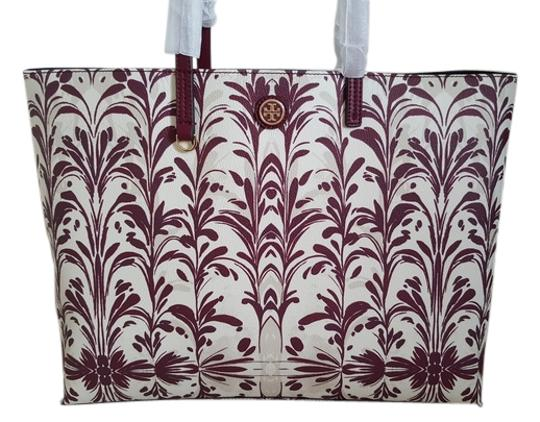 Tory Burch Open Floral Water-resistant Tote in Multi-Color