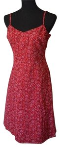 Ann Taylor LOFT short dress Multi Red And White on Tradesy