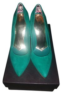 Ted Baker Emerald Green Pumps
