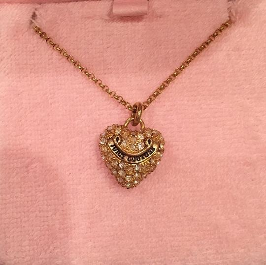 Preload https://img-static.tradesy.com/item/10317385/juicy-couture-gold-with-silver-rhinestones-necklace-0-1-540-540.jpg