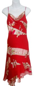 RED Maxi Dress by Sue Wong Silk