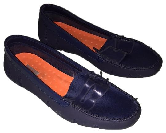Preload https://item3.tradesy.com/images/swims-blue-penny-loafer-flats-size-us-75-regular-m-b-10317502-0-1.jpg?width=440&height=440