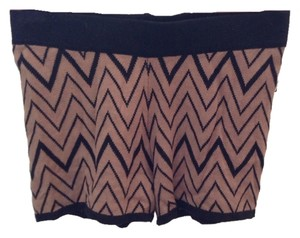 Forever 21 Shorts Taupe/ Black