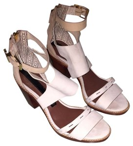 Matt Bernson White Sandals