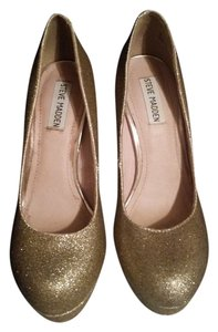 Steve Madden Pump Gold Glitter Pumps